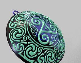Celtic Necklace 3D print model
