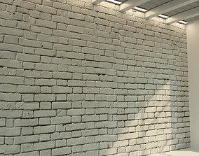 3D Brick wall Old brick 70