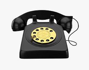 Antique Retro Phone 3D model
