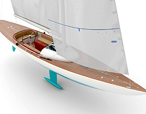 3D model Leonardo yacht Eagle 44 CIAN