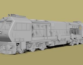 INDIAN TRAIN LOCOMOTIVE DIESEL ENGINE 3D