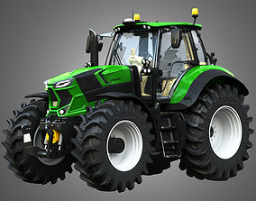 3D model Deutz - Fahr 7 Series - 8280 TTV Tractor