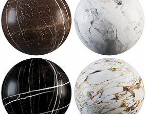 3D model Collection Marble 19