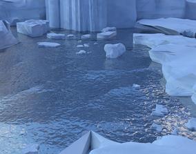 3D snow continent