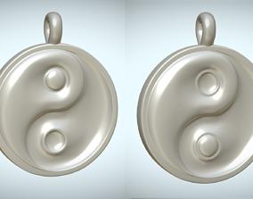 3D model Yin And Yang Pendant