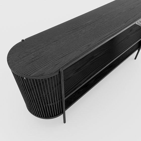 Bastone Sideboard Black