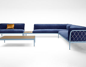 3D Tait Trace sofa Modular