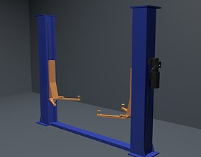 3D Car lift without textures