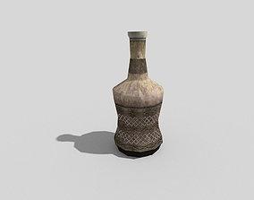 low poly medieval rum 3D asset