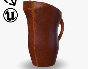 Fantasy Clay Pitcher 3D asset