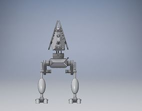 robot mecha weapon hd 3D model