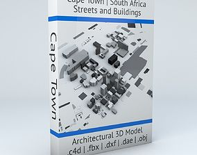 Cape Town Streets and Buildings 3D model
