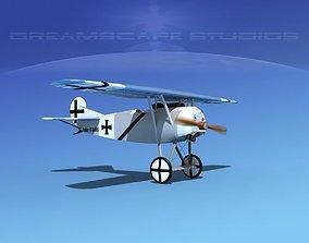 3D Fokker DVIII V11