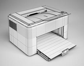 3D model Laser Printer 16