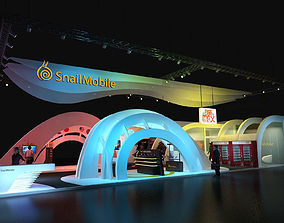 3D snail Exhibition stand
