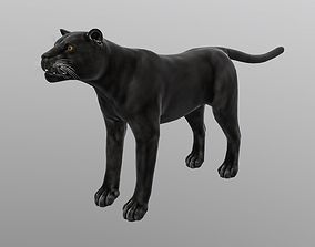 VR / AR ready Panther - lowpoly 3d model
