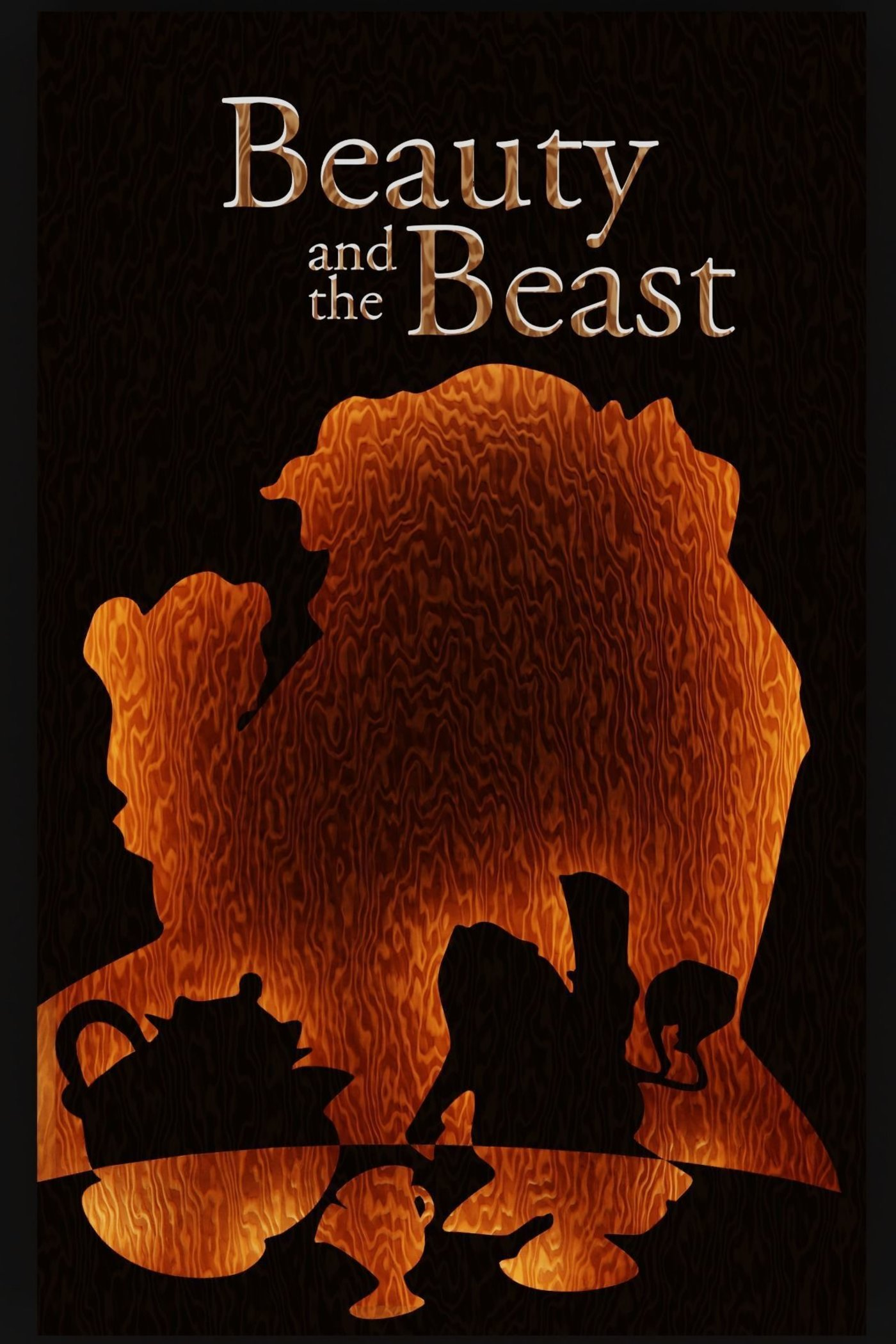 beauty and the beast 1991 poster