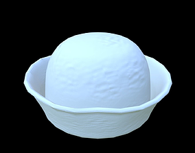 3D model Game Asset - Marine Hat - Low polly