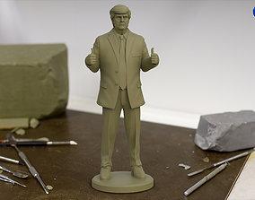 Donald Trump 3d Print Statue usa