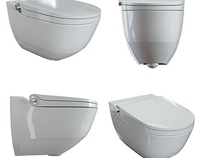 3D model Toilet Laufen Cleanet Riva