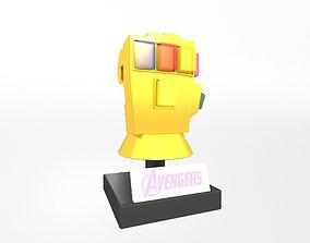 3D asset Lego Infinity Gauntlet v4 002