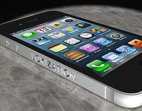 IPHONE 4 LOKIZATION 3D model