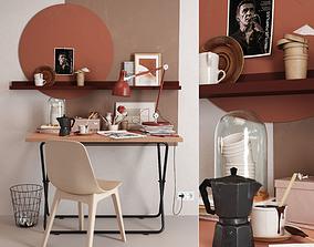 IKEA workplace 3D model