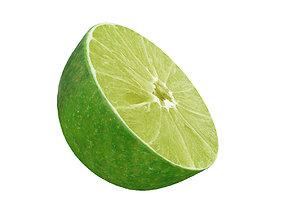 3D Lime half