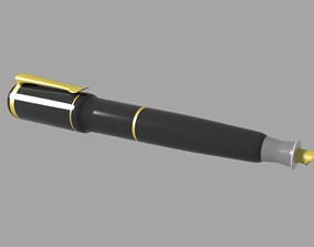 3D asset realtime Fountain Pen