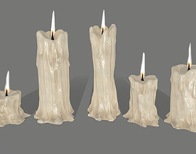 3D asset realtime candle