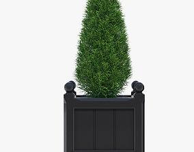 3D model 38cm Windsor Small Planter