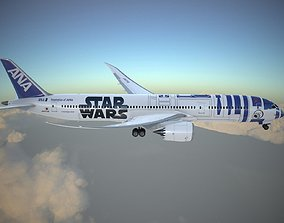 Boeing 787 Dreamliner Star Wars 3D model
