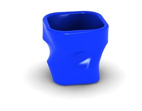 3D print model pot 4