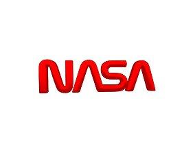 3D model NASA 1975 Logo v2 002