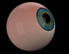 Eye Ball 3D asset