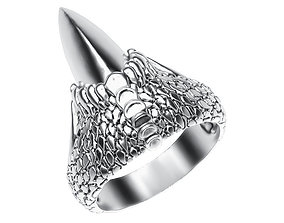 3D printable model Ring 011 claw