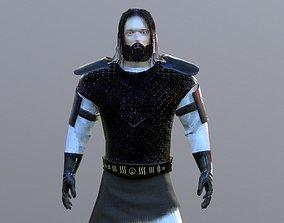 Warrior Game Character 3D model