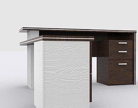 Modern Studio Desk 3D asset