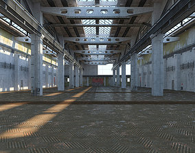 3D model Old Factory Building