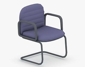 3D asset realtime 1263 - Office Chair