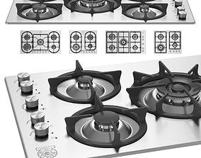 Bertazzoni La Germania - Set of 5 Hobs 3D