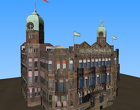 Hotel New York Rotterdam 3D model