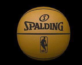 Basketball lowpoly 3D asset