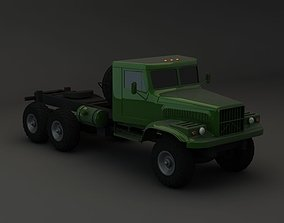 3D model Truck KRAZ 255 B Modify 1