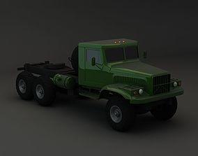 3D model Truck KRAZ 255 B Modify 1