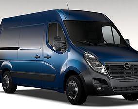 3D Opel Movano L2H2 Van 2016