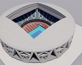 Beijing National Tennis Center 3D model realtime