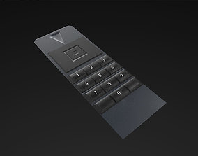 TV Remote 3D asset