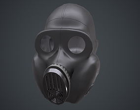 3D model PBF Homyak USSR gas mask black