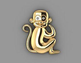 monkey disjunct 3D printable model